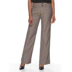 Apt. 9 Herringbone Trouser Dress Pants Size 12